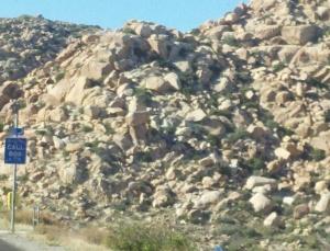 Alien rocks of the high desert