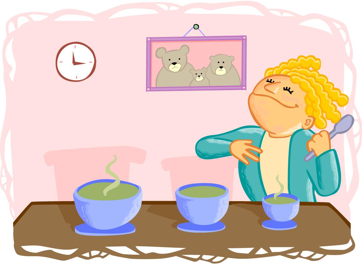 goldilocks and the three bears porridge. Black Bedroom Furniture Sets. Home Design Ideas