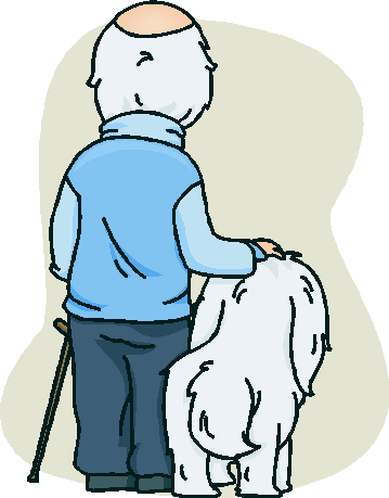oldman and dog shutterstock